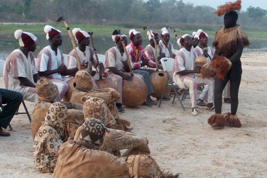 """Boloye"", danse traditionnelle Sénoufo"